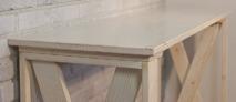 Барная стойка БС-002 Светлая Хижина, 120х40х90 см