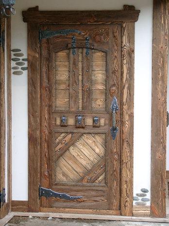 Дверь под старину ДП 1004