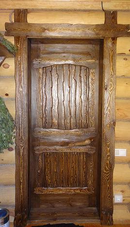 Дверь под старину ДП 1010
