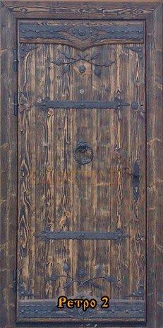 Дверь под старину ДП 1011