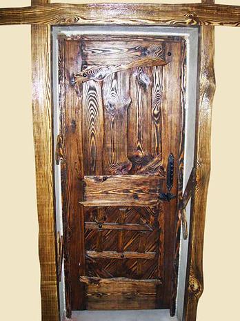 Дверь под старину ДП 1040