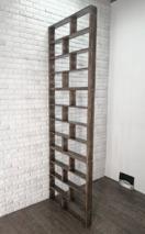 Реечная перегородка модульная для зонирования (декоративная перегородка) ПМ-001 3 секции, 240х80х9 см